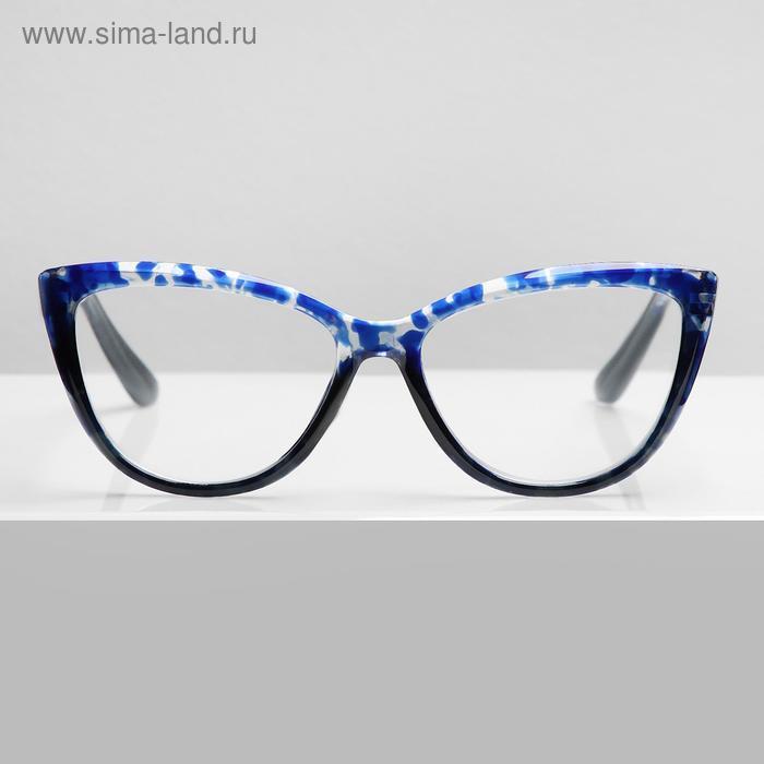 Очки корригирующие В6639, цвет синий, -4 - фото 1
