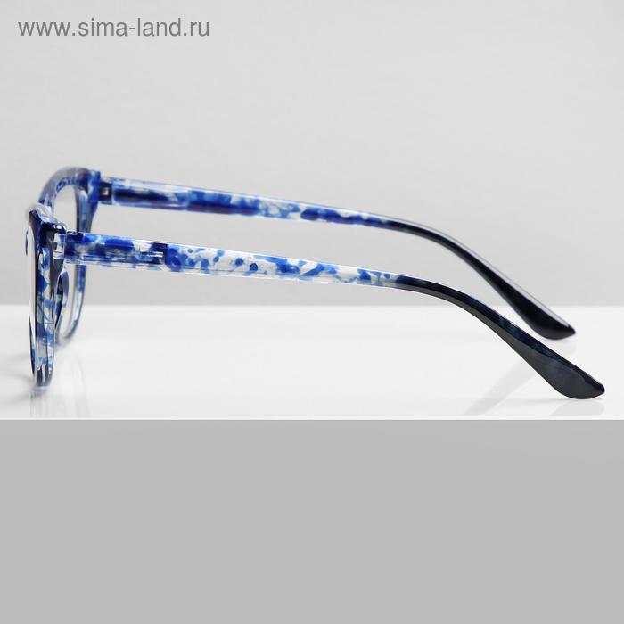 Очки корригирующие В6639, цвет синий, -4 - фото 2