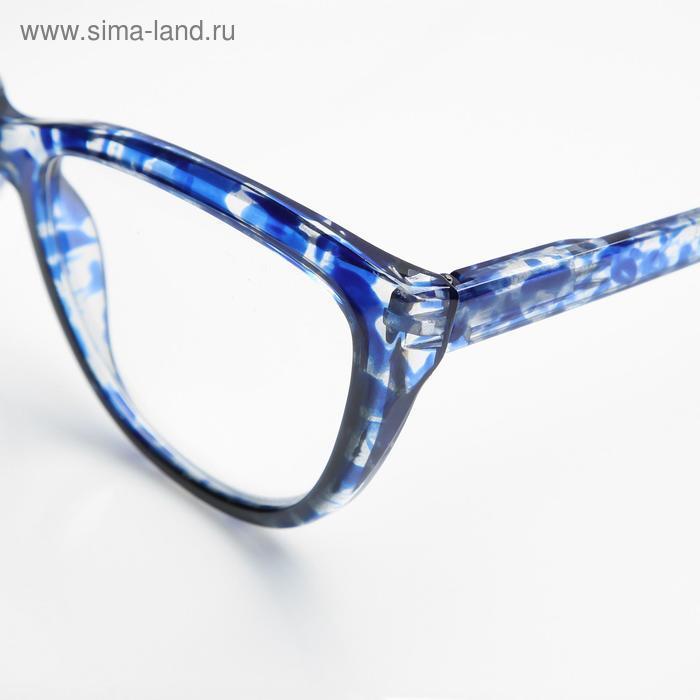 Очки корригирующие В6639, цвет синий, -4 - фото 3