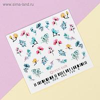 Слайдер-дизайн для ногтей «Flora»