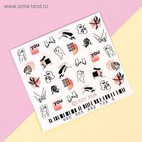 Слайдер-дизайн для ногтей «Sexy»