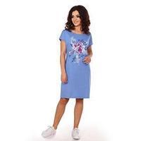Платье женское 'Джейн', цвет голубой, размер 48