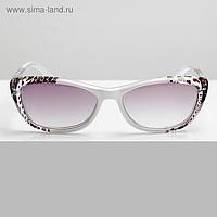 Готовые очки Восток 1322 Белые Тигровые Тонированные Тигровые (+4.00)