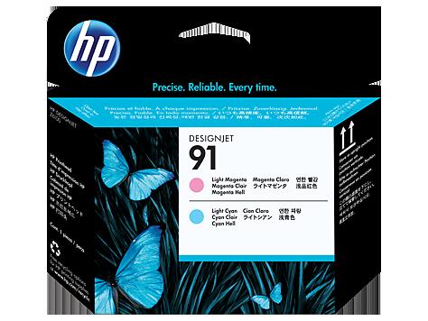 HP C9462A Печатающая головка светло-пурпурный и светло-голубой HP 91 для Designjet Z6100 серии