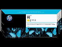 HP C9469A Картридж желтый HP 91 для Designjet Z6100 серии