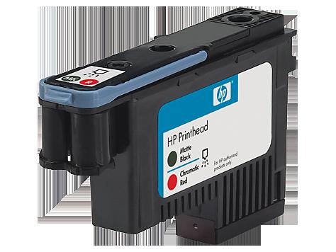 HP CD949A Печатающая головка черная матовая и хроматическая красная HP 73 для Designjet Z5200, Z3200