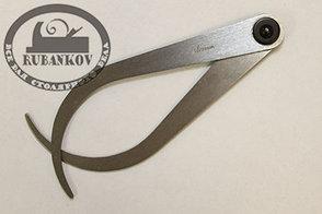 Кронциркуль изогнутый Shinwa 150мм, для наружных измерений