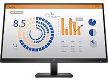 "HP 8MB11AA Монитор P27q G4 QHD 27"" IPS LED 2560x1440@60 Hz, 5ms, 1000:1 (10000000:1), 178/178, VGA, HDMI"