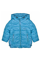Детская для девочек осенняя голубая куртка Bell Bimbo 163030 св.бирюза 98-56р.