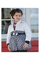 Детская для девочек осенняя белая куртка Bell Bimbo 163031 набивка/молоко 98-56р.