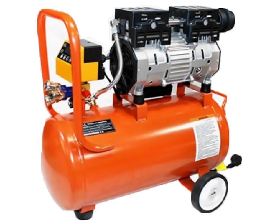 Воздушный бесшумный. безмасленный компрессор PIT 24 L 1,5 kW