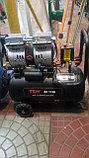 Воздушный бесшумный. безмасленный компрессор PIT 24 L 1,5 kW, фото 3