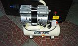 Воздушный бесшумный. безмасленный компрессор PIT 24 L 1,5 kW, фото 5