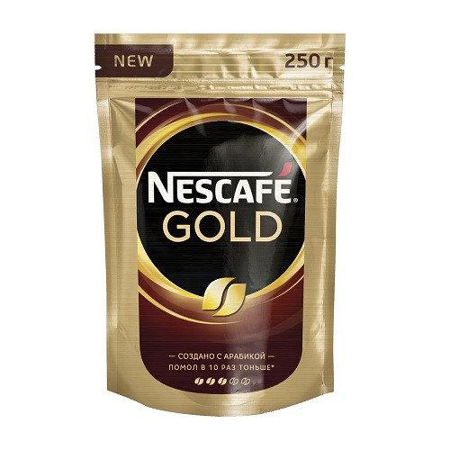 Nescafe Gold, растворимый, м/у, 250 гр