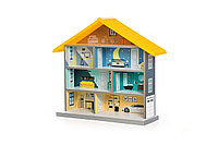 Кукольный домик BiBi желтый