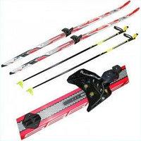 Лыжи беговые в комплекте, фото 1