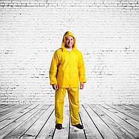 Костюм влагозащитный, ПВХ, желтый