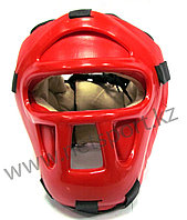 Шлем боксерский закрытый кожа, фото 1