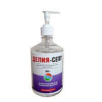 Делия-септ антибактериальное мыло 500 мл.