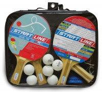 Набор: 4 Ракетки Level 100, 6 Мячей Club Select, Сетка с креплением, упаковано в сумку на молнии с ручкой