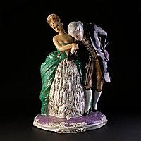 Скульптурная композиция «Приглашение на танец». Италия. II половина ХХ века.