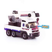 Volvo автомобиль-кран с поворотной платформой полицейский NL в сеточке