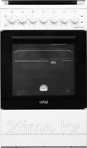 Плита электрическая  Artel Comarella 50 01-E , белый,коричневый,серый