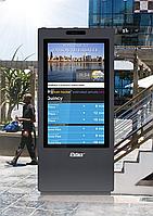 Уличный всепогодный рекламны киоск 43 / 55'' IP65 Outdoor Kiosk