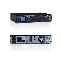 Источник бесперебойного питания 1000ВА/900Вт (ИБП) UPS SVC LRT-1KL-LCD, фото 1