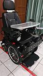 Инвалидная электрическая коляска с вертикализатором, мощность моторов 350w*2 (700w), аккум. 24v  40A/H., фото 2