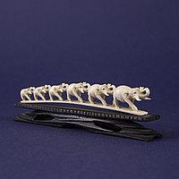 Скульптурная композиция «Слоны идущие на водопой»