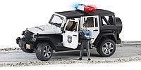 Внедорожник Jeep Wrangler Unlimited Rubicon - Полиция (Bruder, Германия)