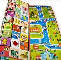 Термо коврик детский развивающий двусторонний 1,5*1,8*1 см