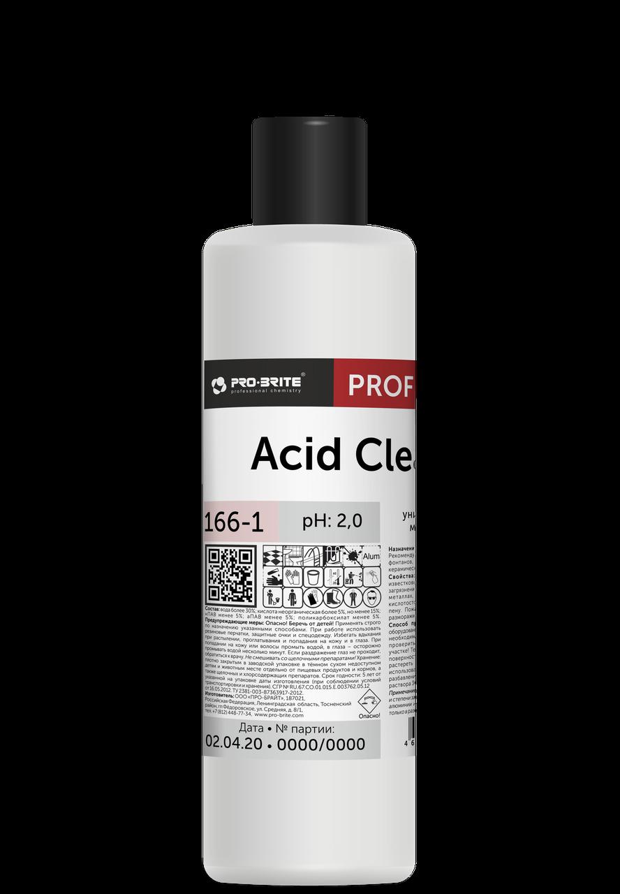 Универсальный пенный моющий концентрат Acid Сleaner