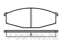 Тормозные колодки REMSA   129.00-AF