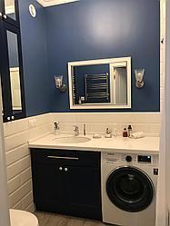 Мебель для ванной: тумба и шкаф