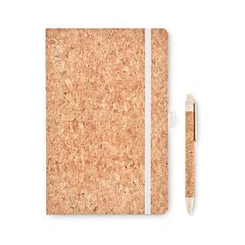 Блокнот A5 с ручками, SUBER SET