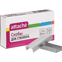 Скобы Attache №24/6, 1000 шт/уп
