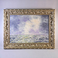 «Морской пейзаж» Rik. Bourguignon (1902-2001)