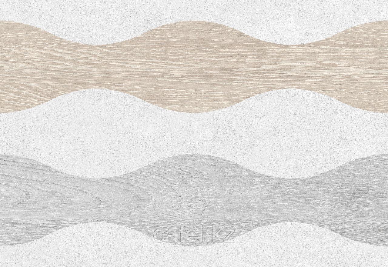 Кафель   Плитка настенная 28х40 Киото   Kioto 1Д серый
