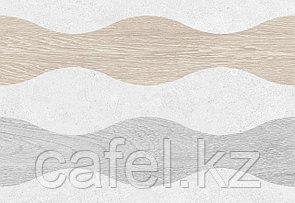 Кафель | Плитка настенная 28х40 Киото | Kioto 1Д серый