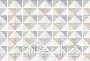 Кафель | Плитка настенная 28х40 Киото | Kioto 7Д белый