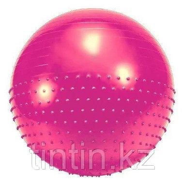 Гимнастический мяч двухсторонний 2 в 1 (фитбол) 75 см, фото 2
