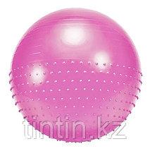 Гимнастический мяч двухсторонний 2 в 1 (фитбол) 75 см, фото 3