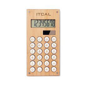 Калькулятор из бамбука, CALCUBAM