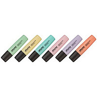 Маркер текстовой Attache Pastel, 6 цветов.