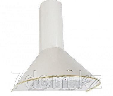 Вытяжка классика Elikor Эпсилон 50П-430 молоко/золото, фото 2