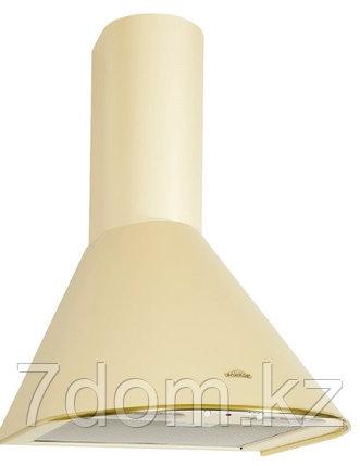 Вытяжка классика Elikor Эпсилон 60П-430 ваниль/золото, фото 2