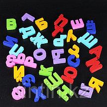 Деревянная рамка-вкладыш с русским алфавитом, 30х30 см, фото 3