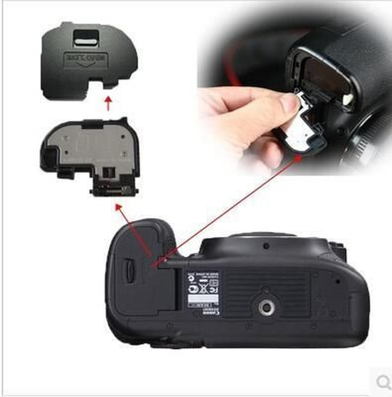 Крышка батарейного отсека от фотоаппаратов Canon и Nikon